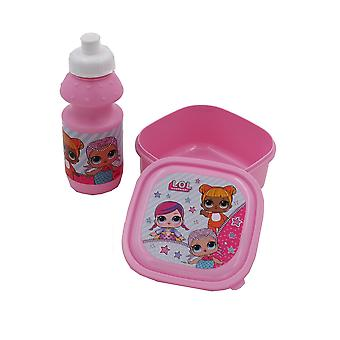 LOL Surprise! Childrens/Kids Lunch Bag Set