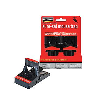 Pest-Stop Systems Sure-Set Mouse Trap Pack of 2 PRCPSSPT