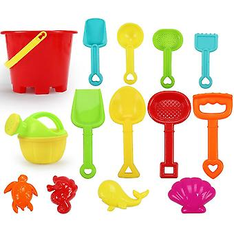 Baby Tools Set Sand Playing Toys, Fun Water Beach Seaside Birthday For Kid (a)