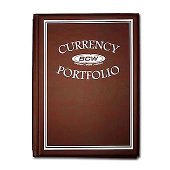 BCW Album Combo Currency Portfolio
