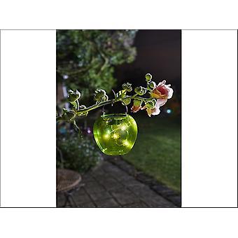 Smart Solar Funky Hanging Apple Light Green 1080958