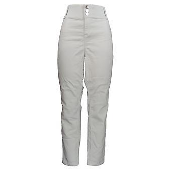 Laurie Felt Mujeres's Jeans Curve Silky Denim Skinny Leg Blanco A305680