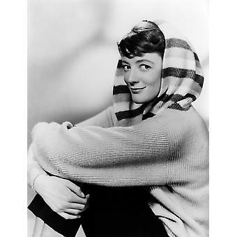 Maggie Smith Ca 1950 Photo Print