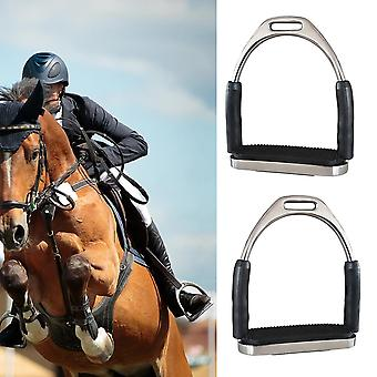 Harness Supplies Stainless Steel, Anti Slip, Durable Racing Stirrups, Safety