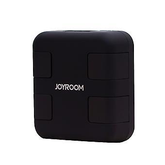JOYROOM JR-L401 Portable 5V/5.1A 4-USB Port Smart Quick Charge Travel Charger with Holder Function for Smartphones & Tablets & Power Bank & Bluetooth