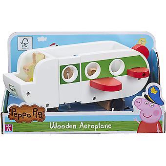 Peppa Pig - Avión de madera