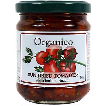 Organicanico Sundried Tomater - Økologisk 190g x6