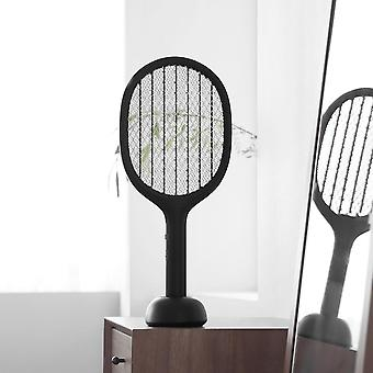 Electric Mosquito P1 Usb Rechargeable Swatter Racket - 2200v Handheld Fly