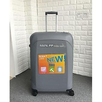 Pp Rolling Luggage Suitcase/ Ultra-light Waterproof Wheel Trolley Travel Luxury
