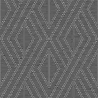 Pear Tree Black Geometric