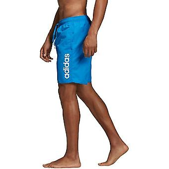 Adidas Men's Lineage Classic-Length Swim Shorts DQ2987
