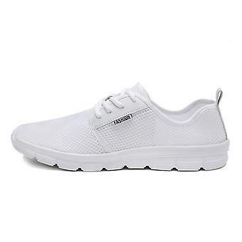 Muži prodyšné sportovní mesh slip-flat-podrážkou ležérní boty