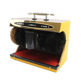 Shoe Polisher Washing Brush Automatic Polishing Leather Shine Cleaning Machine