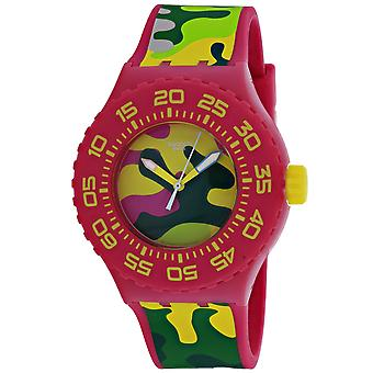 Swatch Men's Camo Multi Farbe Zifferblatt Uhr - SUUP101