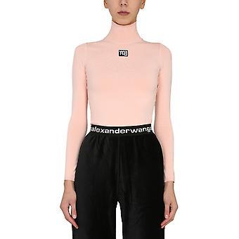 Alexander Wang.t 4kc2201012681 Women's Pink Viscose Top