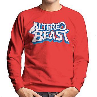 Sega Endret Beast Logo Menn's Sweatshirt