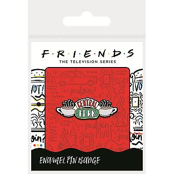 Amis Enamel Central Perk Badge