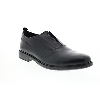 Geox U Terence Herren Schwarz Oxfords & Schnürsenkel Plain Toe Schuhe