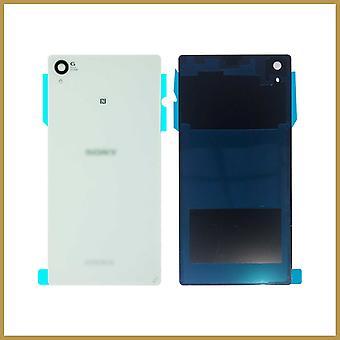 Til Sony Xperia Z1 L39H C6902 C6903 Battery Back Cover Housing case lim - Hvid