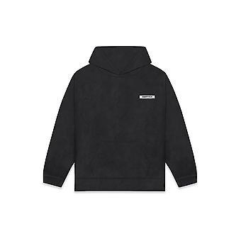 Fear Of God Essentials Polar Fleece Hoodie Black - Clothing