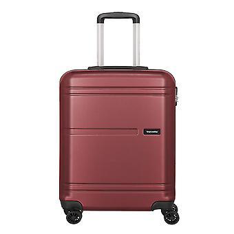 travelite Yamba Handbagage Trolley S, 4 hjul, 55 cm, 37 L, röd
