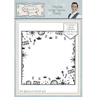 Sentimentally Yours Timeless Large Square Frame Pre Cut Stamp