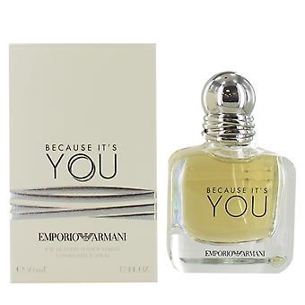 Giorgio Armani Because Its You 50ml Eau de Parfum Spray for Women