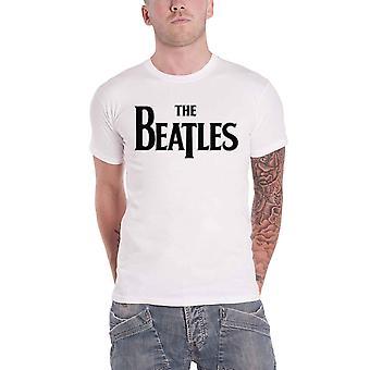 The Beatles T Shirt Classic Drop T Band Logo new Official Mens