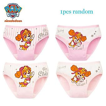 1pcs Paw Patrol Kids Panties Underwear Chase Marshall Rubble Underpants Clothes