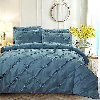 Solid Duvet Cover Bedding Set