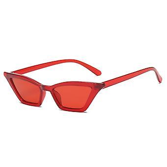 Retro Uv400 Mode Rechteck rimless Frauen Sonnenbrille
