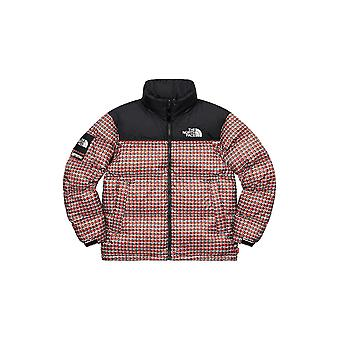 Supreme The North Face Studded Nuptse Jacket Red - Clothing