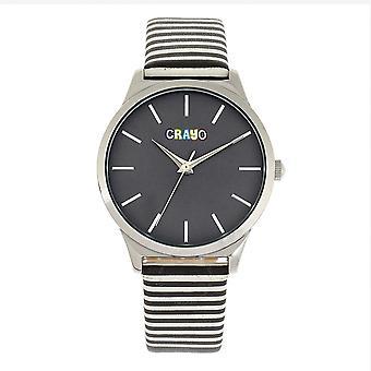 Crayo Aboard Quartz Grey Dial Unisex Watch CRACR5605
