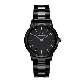 Daniel Wellington DW00100414 Iconic Link Black Ceramic Wristwatch