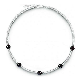 QUINN - Halskette - Damen - Silber 925 - Edelstein - Granat - 27169363