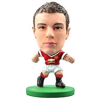 SoccerStarz Abbildung Manchester United Home Kit Jonny Evans