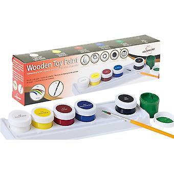 Holzspielzeug Farben - Acryl-Farben auf Wasserbasis fr Kinder und Spielzeug insbesondere aus Holz