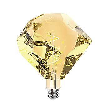 Classic Style Led Type E E27 Dimmable 220-240v 4w 2100k, 200lm, Amber Finish