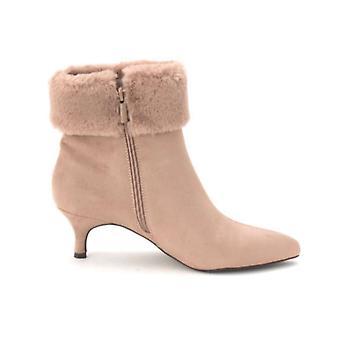 Impo Womens Esra Faux Fur Closed Toe Ankle Fashion Boots