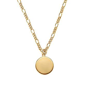 NOELANI Women's pendant necklace, sterling 925 silver, coin(1)