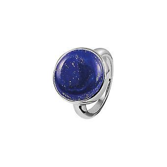 جاك ليمانز - خاتم الجنيه الاسترليني الفضة مع لازولي lapis - SE-R122A58 - عرض الحلقة: 58