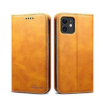 Slot per carte custodia in pelle portafoglio per iphone xsmax khaki pc270
