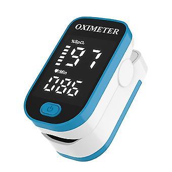 الأزرق الرقمي نبض oximeter إصبع مقطع معدل ضربات القلب رصد az4697