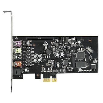 Carte son de jeu Asus Xonar SE 5.1, PCIe, Audio haute résolution, 300ohm, SNR 116dB, ampli casque