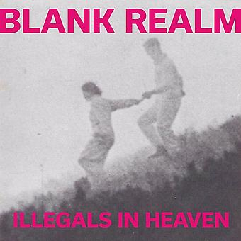 Blank Realm – Illegals In Heaven Pink & White Vinyl