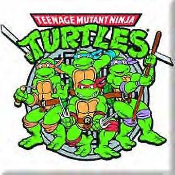 Teenage Mutant Ninja Turtles Group Graphic Fridge Magnet