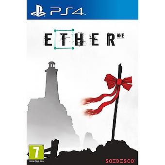 Ether One PS4 Game