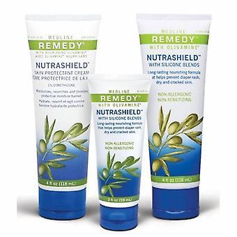 Medline Skin Protectant Remedy Nutrashield 4 oz. Tube Scented Cream, Case of 12