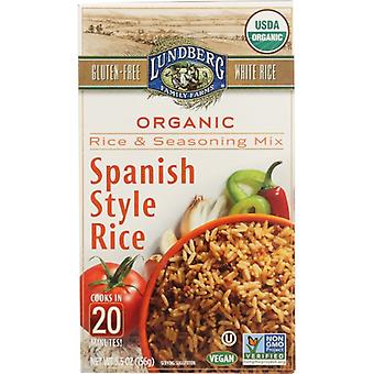 Lundberg Rice Wht Spansh Style Ent, Case of 6 X 5.5 Oz