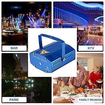 Mini R&g 110-240v Ajustando dj disco festa led laser projetor de palco